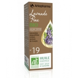 Arkopharma Huile Essentielle de Lavande fine 10ml produit d'aromathérapie bio Les Copines Bio