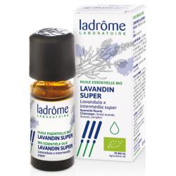 Ladrome Huile essentielle de Lavandin x super Bio 10ml produit d'aromathérapie Les Copines Bio