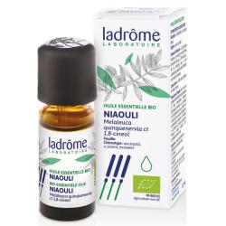 Ladrome Huile essentielle de Niaouli Bio 10ml complément alimentaire d'aromathérapie Les Copines Bio