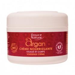Douce Nature Crème nourrissante à l'huile d'argan 200ml les copines bio