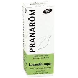 Pranarôm Lavandin super ou Lavandin Abrial Bio Flacon compte gouttes 10ml produit d'aromathérapie Les Copines Bio
