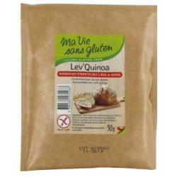 Ma vie sans Gluten Lev'Quinoa pour pains et pâtes levées sans gluten  50ml produit d'alimentation Les Copines Bio