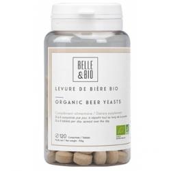 Belle et Bio Levure de bière 120 comprimés complément alimentaire Les Copines Bio