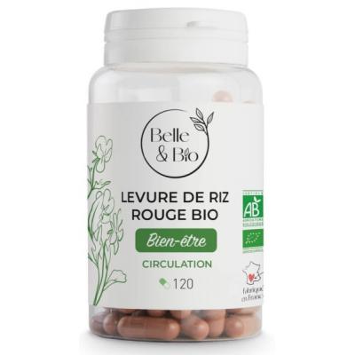 Belle et Bio Levure de Riz rouge 120 gélules complément alimentaire Les Copines Bio