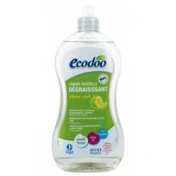 Ecodoo Liquide vaisselle dégraissant citron vert 500.0ml produit d'entretien de la vaisselle Les Copines Bio