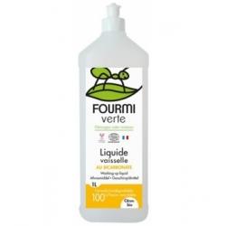 La Maison Verte Liquide Vaisselle parfum Citron  1L produit de nettoyage pour la vaisselle Les Copines Bio