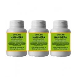 Han-Biotech Lot de 3 Han Hepa 3X180 comprimés complément nutritionnel Format CURE Les Copines Bio