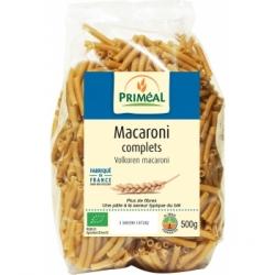 Primeal Macaroni complets  500g produit d'alimentation Les Copines Bio