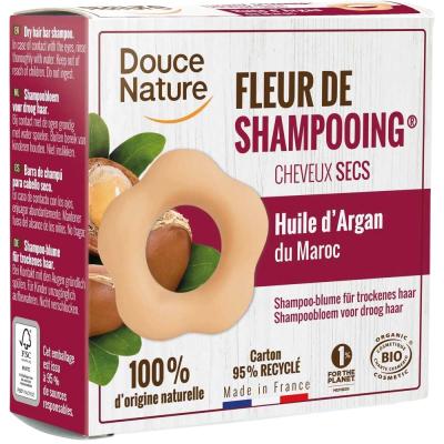Fleur de shampooing cheveux secs - 85 gr