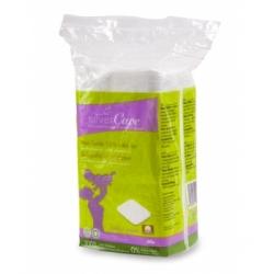 Silvercare Maxis carrés 100% coton bio  60 unités produit accessoire de soin pour le visage Les Copines Bio
