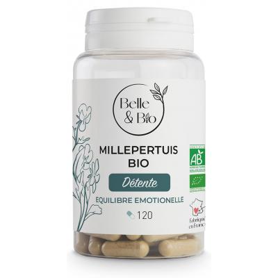 Belle et Bio Millepertuis bio 120 gélules Complément alimentaire Santé Les Copines Bio