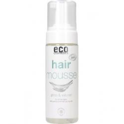 Eco Cosmetics Mousse coiffante brillance et volume Grenade et Baies de Goji  150ml produit de soin pour les cheveux Les Copines