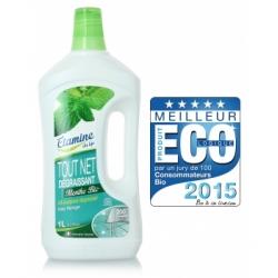 Etamine du Lys Nettoyant tout net à la menthe multi usage super économique 200 lavages  1L produit d'hygiène pour la maison Les