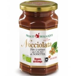RIgoni di Asiago Nocciolata Pâte à tartiner Bio  350g produit d'alimentation  Les Copines Bio