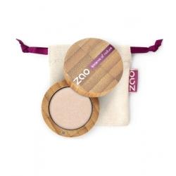 Zao Ombre à Paupières 121 Ivoire lumière nacré 3g produit de maquillage biologique Les Copines Bio