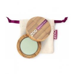 Zao Ombre à Paupières 214 Vert d'eau mat 3g produit de maquillage biologique Les Copines Bio