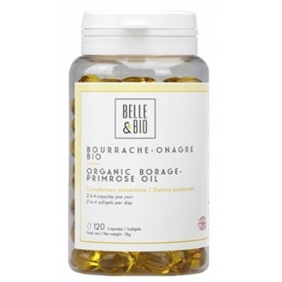 Belle et bio Onagre Bourrache bio 120 capsules complément alimentaire Les Copines Bio