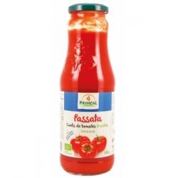 Primeal Passata de tomates  690g produit d'alimentation Les Copines Bio