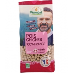 Priméal Pois chiches  500g produit d'alimentation Les Copines Bio