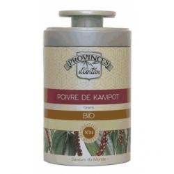 Provence D'Antan Poivre de kampot bio boîte métal 40g 40gr produit alimentaire - condiment Les Copines Bio