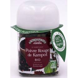 Provence D'Antan Poivre de kampot bio pot végétal biodégradable 40g 0.040 gr produit alimentaire - condiment Les Copines Bio