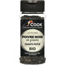 Cook Poivre noir en grains 50g 0.050 gr produit alimentaire - condiment Les Copines Bio