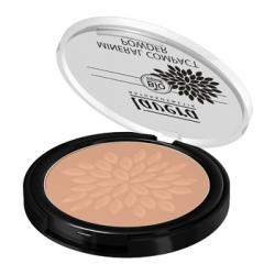 Lavera Poudre minérale compacte Amande 05 7gr produit de maquillage bio pour le teint Les Copines Bio