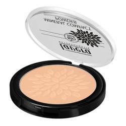 Lavera Poudre minérale compacte Miel 03  7g produit de maquillage pour le visage Les Copines Bio