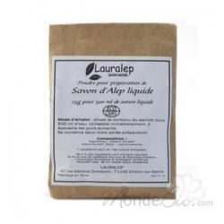 Lauralep Préparation pour savon liquide d'Alep pour sachet de 500ml  25g produit de base pour le nettoyage du corps Les Copines