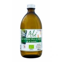 Puraloe Pur Gel bio d'Aloe Vera à boire 500.0ml Complément alimentaire Santé Les Copines Bio