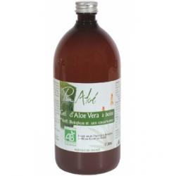 Puraloe Pur Gel d'Aloé Vera à boire  1L complément alimentaire Les Copines Bio
