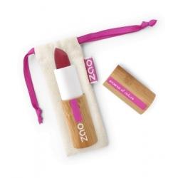 Zao  Rouge à lèvres Soft Touch 436 Rouge Pourpre 3.5gr produit de maquillage des lèvres bio Les Copines Bio
