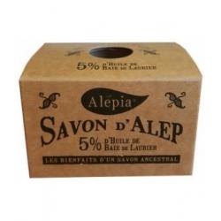 Alepia Savon d'Alep 5% Laurier 190gr produit d'hygiène pour le corps Les Copines Bio