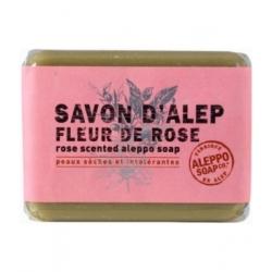 Tade Savon d'Alep Fleur de Rose Aleppo Soap 100gr produit d'hygiène pour le corps Les Copines Bio