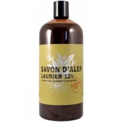 Tade Savon d'Alep liquide Olive et 12 % Laurier Recharge 1L produit d'hygiène pour le corps Les Copines Bio