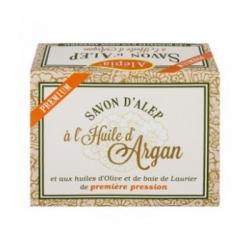 Alepia Savon d'alep premium Huile d'argan 125gr produit d'hygiène pour le corps Les Copines Bio