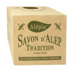 Alepia Savon d'Alep tradition 190gr produit d'hygiène pour le corps Les Copines Bio