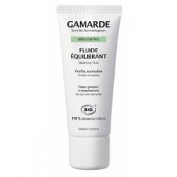 Gamarde Sebo control Fluide équilibrant peaux grasses tube  40g produit de soin pour le visage Les Copines Bio