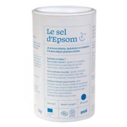 Anae Sel d'Epsom  1kg produit de soin pour le bain Les Copines Bio