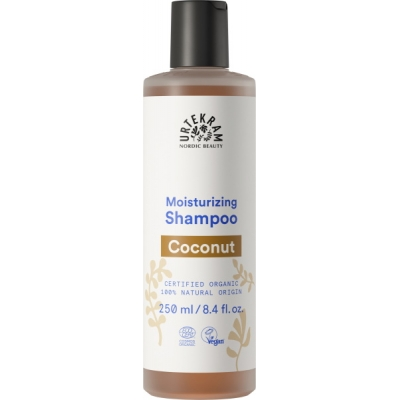 Urtekram shampoing à la Noix de Coco cheveux normaux 250ml produit d'hygiène pour les cheveux Les Copines Bio
