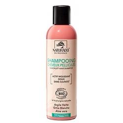 Naturado Shampoing antipelliculaire sans sulfate 200ml produit d'hygiène pour les cheveux Les Copines Bio