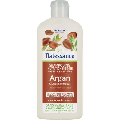 Natessance shampoing Nutrition Intense Protecteur anti âge  250ml produit d'hygiène pour les cheveux Les Copines Bio