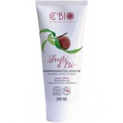 C'bio Shampooing douche Fruits d'Eté 200ml soin nettoyant pour le corps Les Copines Bio