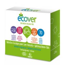 Ecovert Tablettes Lave Vaisselle Parfum Agrumes 70 unités produit de nettoyage pour la vaisselle Les Copines Bio