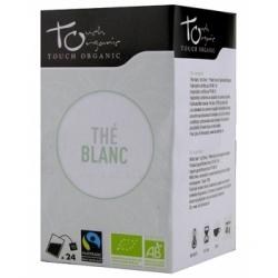 Touch Organic Thé blanc BIO 48g 24 unités produit d'alimentation Les Copines Bio