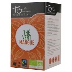 Touch Organic Thé vert BIO à la mangue 43g 24 unités produit d'alimentation Les Copines Bio
