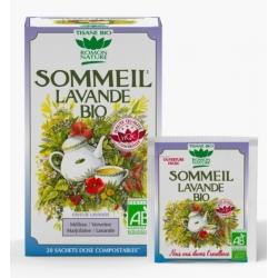 Romon Nature Tisane Sommeil Lavande bio 20 sachets produit pour la préparation de tisanes Les Copines Bio