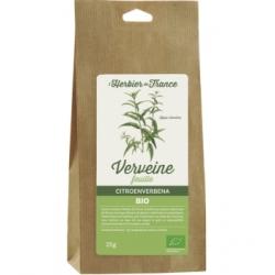 Herbier De France Verveine odorante 25gr produit alimentaire pour la préparation de tisanes Les Copines Bio