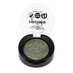 Purobio Cosmetics Fard à paupières shimmer 22 Vert Mousse 2.5g 2.5gr produit de maquillage pour les yeux Les Copines Bio