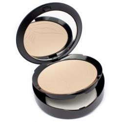 Purobio Cosmetics Fond de Teint compact 03 9g 9.0gr produit de maquillage minéral pour le Teint Les Copines Bio